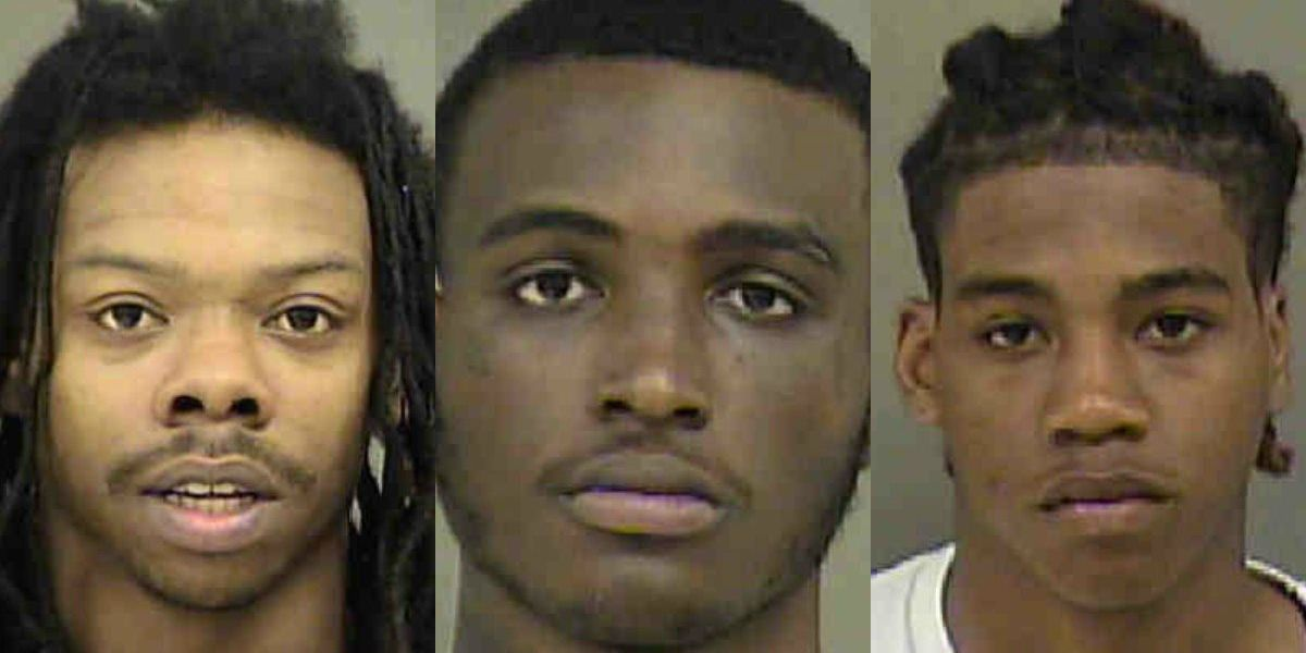 Three men charged in UNC Charlotte armed robbery