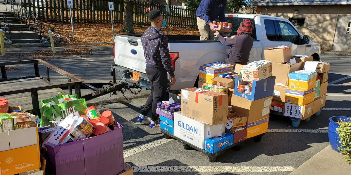 Cabarrus, Rowan food drive for Veterans extremely successful