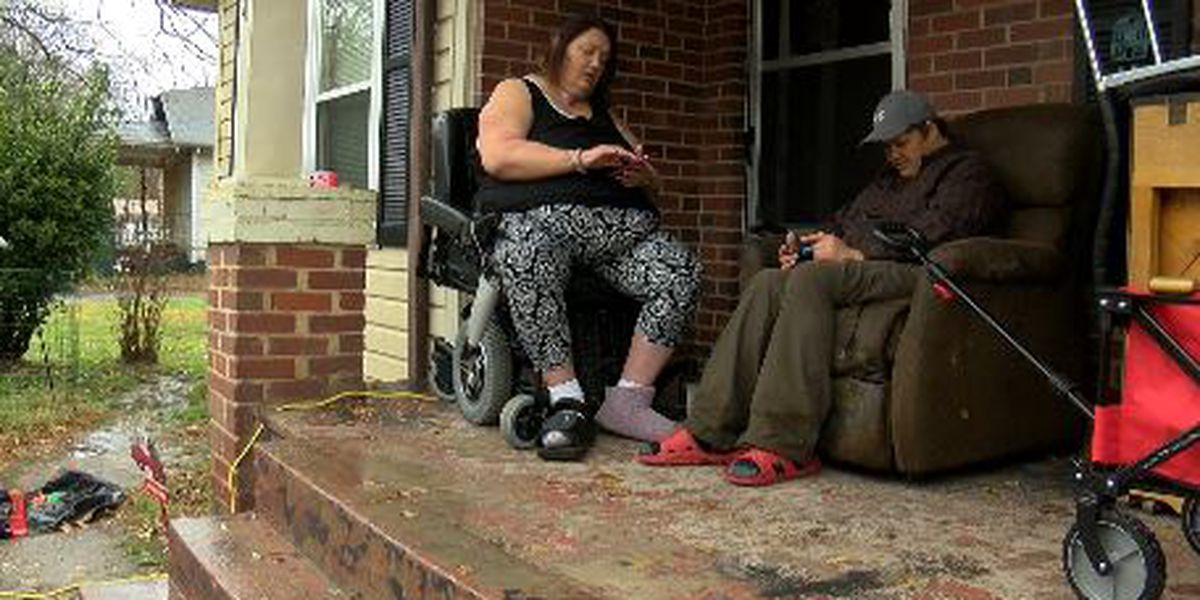 Gastonia woman claims she's being ejected by her wheelchair
