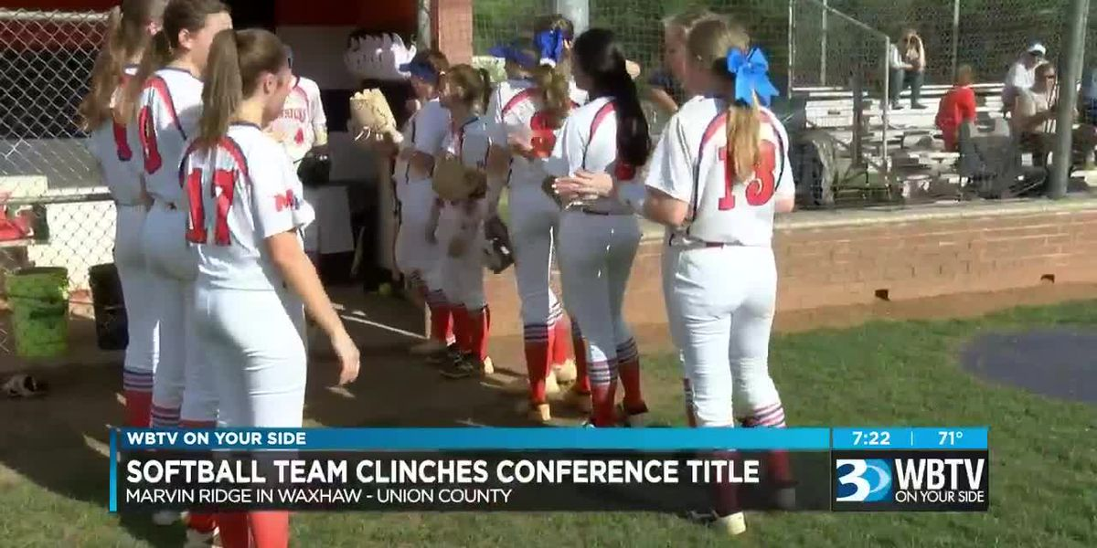 Marvin Ridge Softball Captures First Conference Title Since 2013