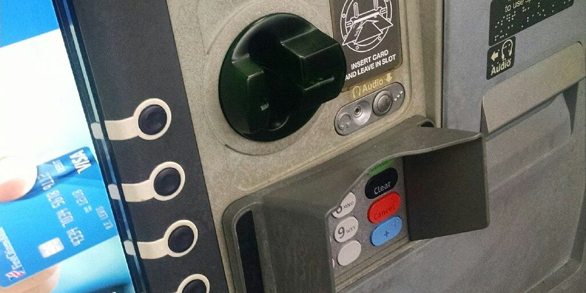 ATM card reader, camera system found at bank in Newton