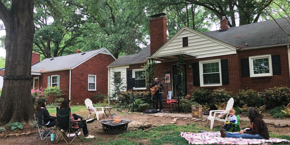 Concerts during coronavirus? They're happening for free with social distance in one CLT neighborhood