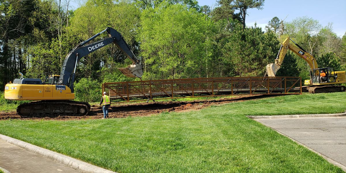 Progress on Irish Buffalo Creek Greenway in Kannapolis continues