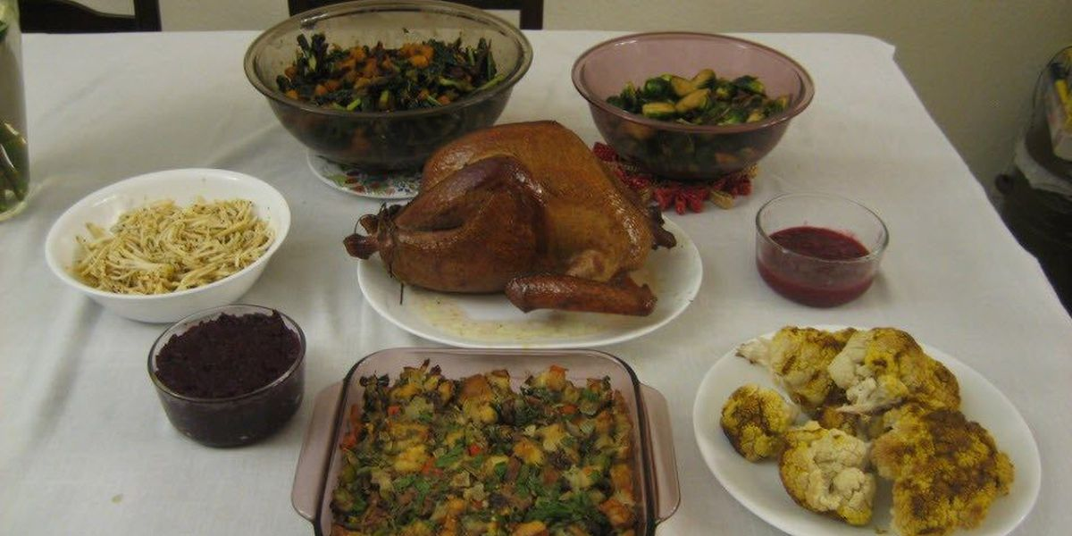 Thanksgiving meal cheapest in five years according to new survey