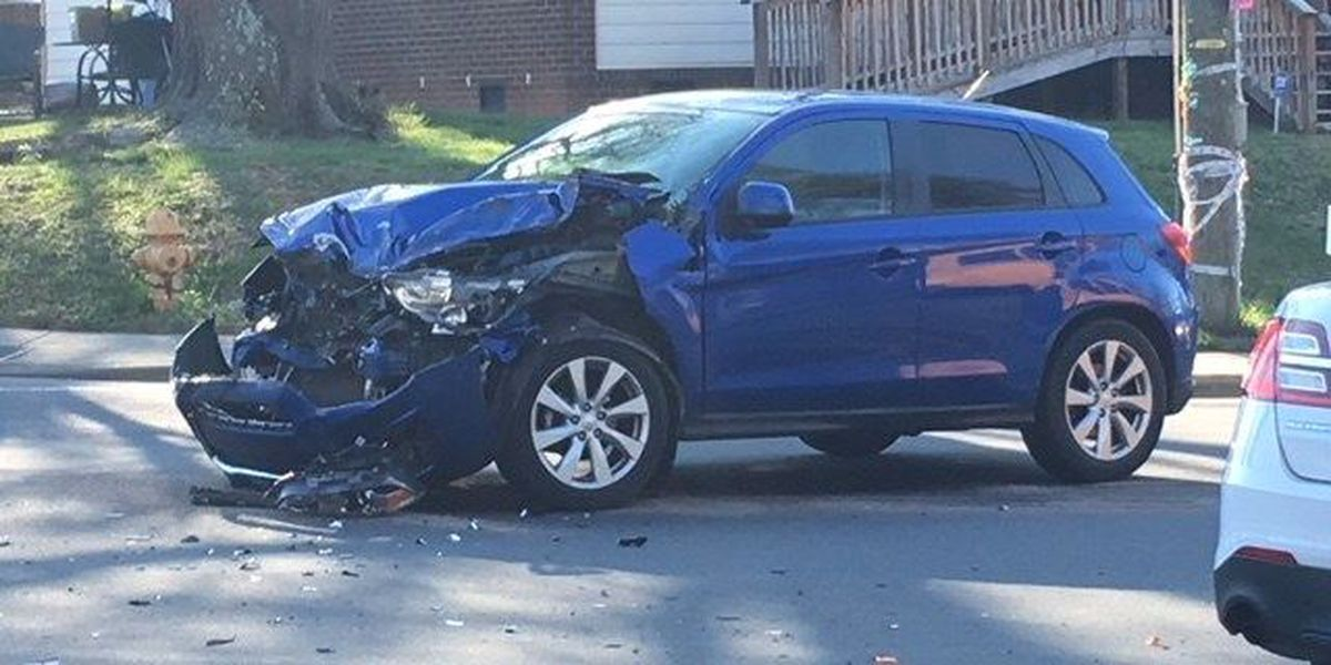 One person injured after school bus collides with car in east Charlotte