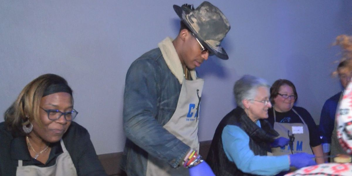 Cam Newton Foundation Hosts 'Cam's Thanksgiving Jam'