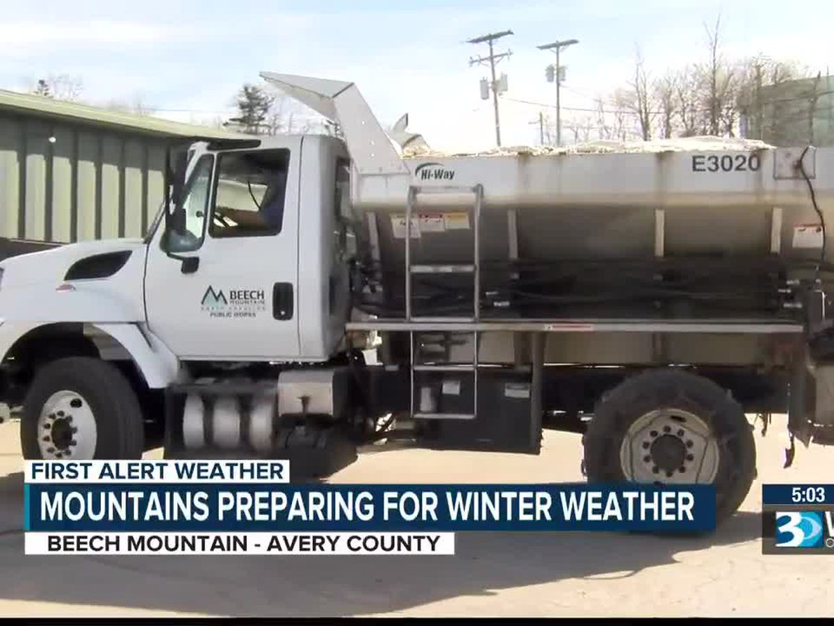 Crews preparing as bitter cold heads to the N.C. mountains, bringing possible snow