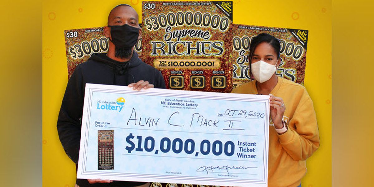 Retired N.C. Marine using $10 million lottery win to honor late son, help his community