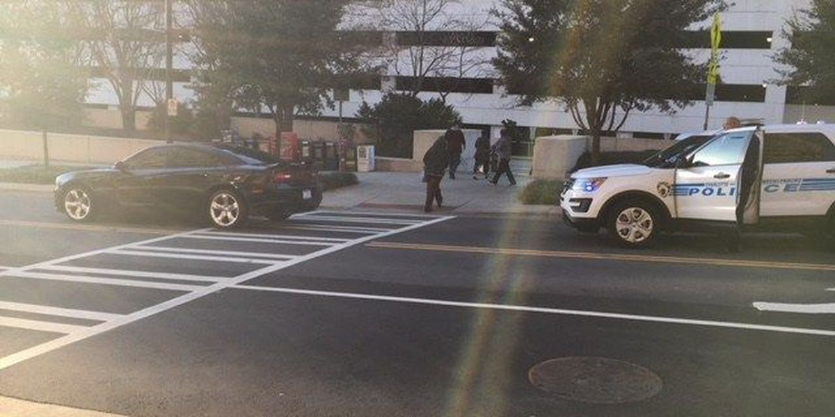 CMS management employee struck, seriously in uptown Charlotte