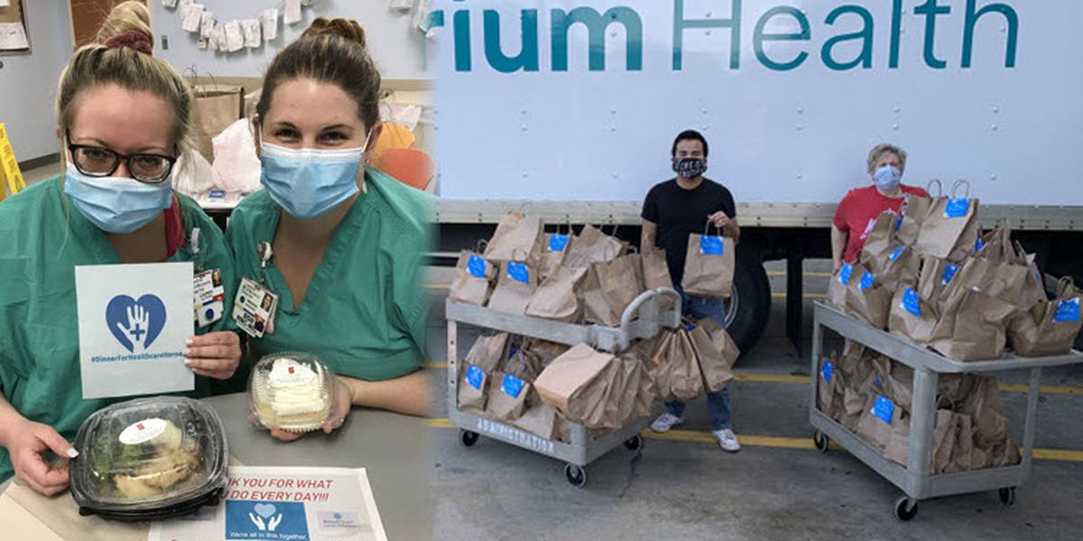 Law firm donates 400+ meals to local healthcare workers