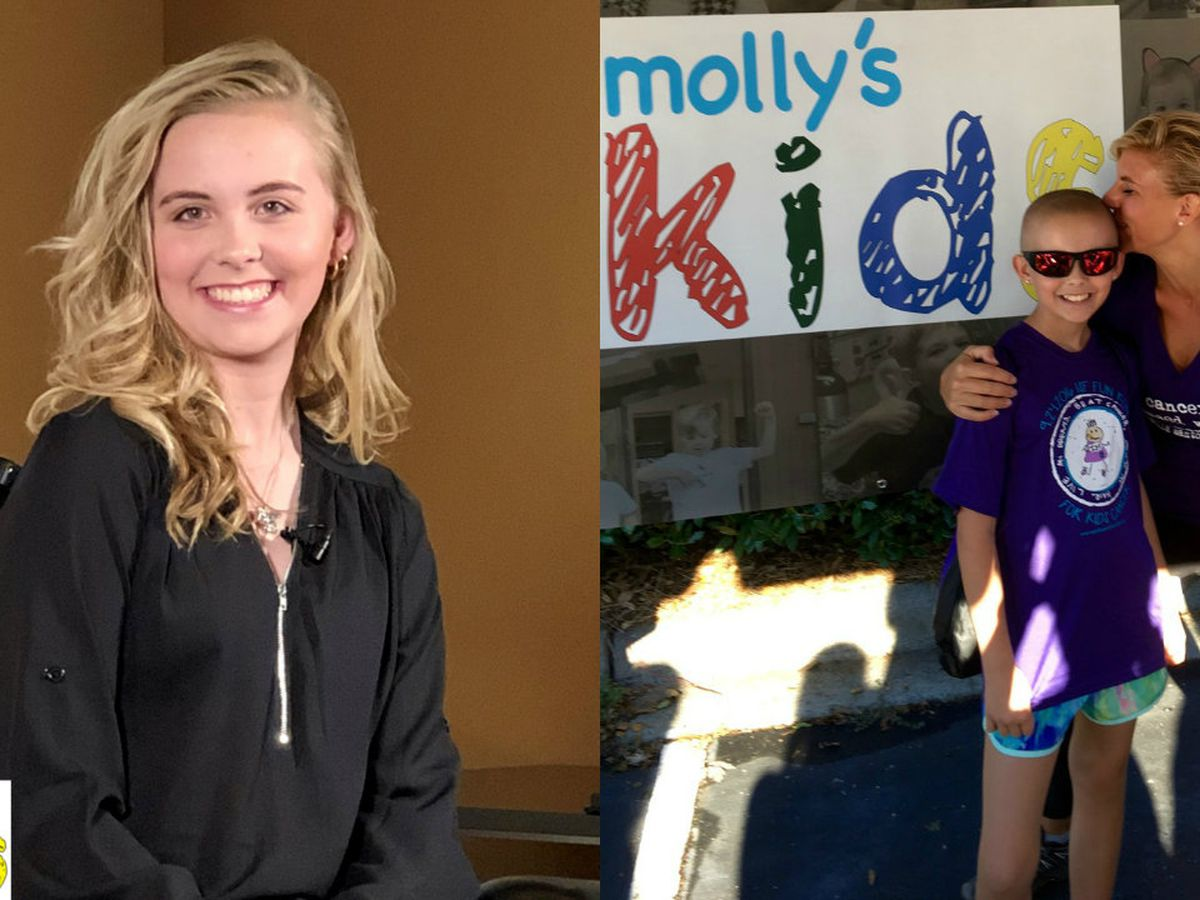 Molly's Kids: Ally Davis relapses with her cancer battle