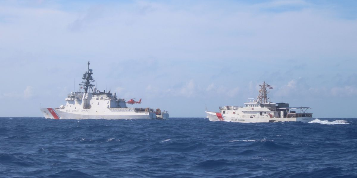 Charleston-based Coast Guard ship aids in seizure of $377 million worth of drugs
