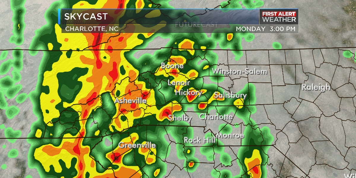 First Alert Day for Monday