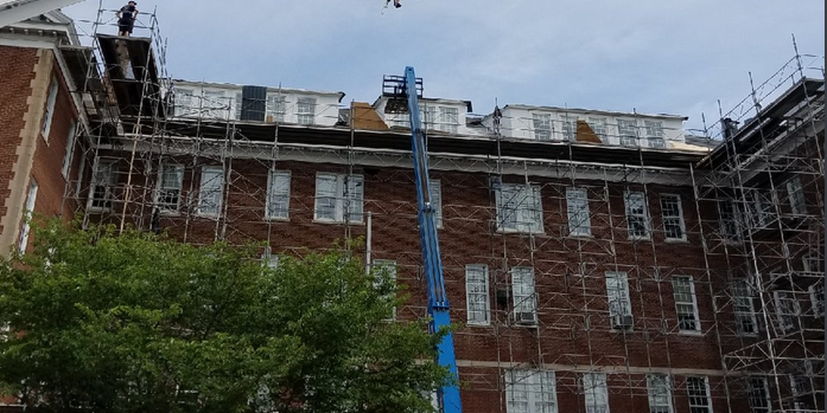 Crews rescue person having 'medical emergency' from roof in Rock Hill