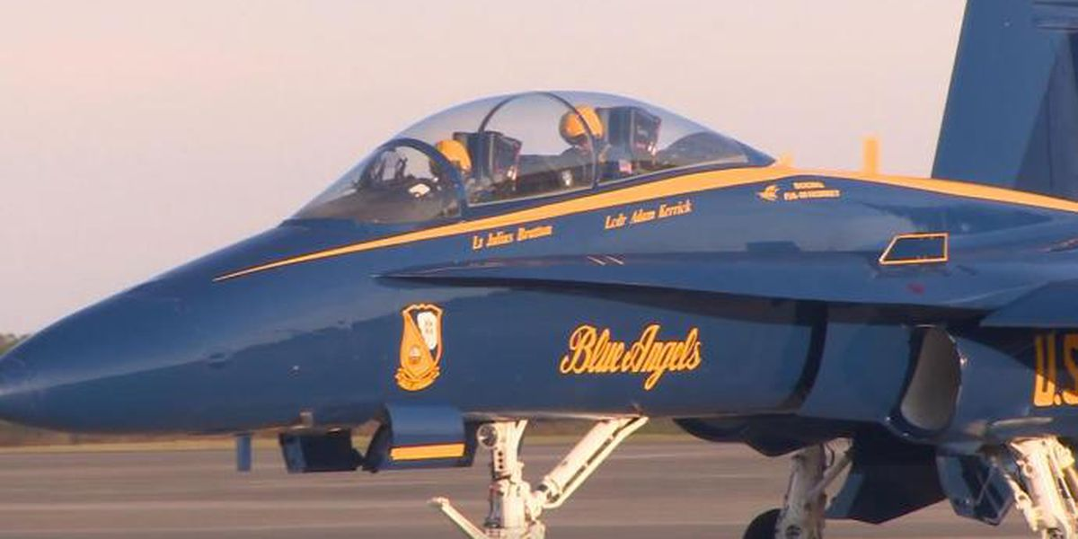 Blue Angels fly into N.C. to plan for airshow
