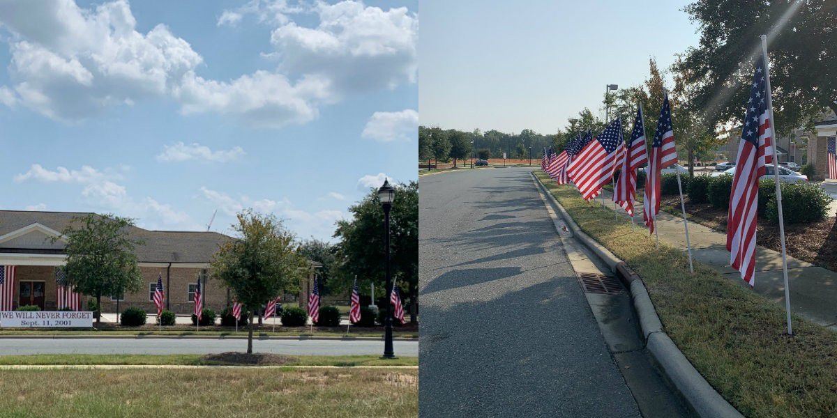 Funeral home believes American flag was taken from front lawn in Union County