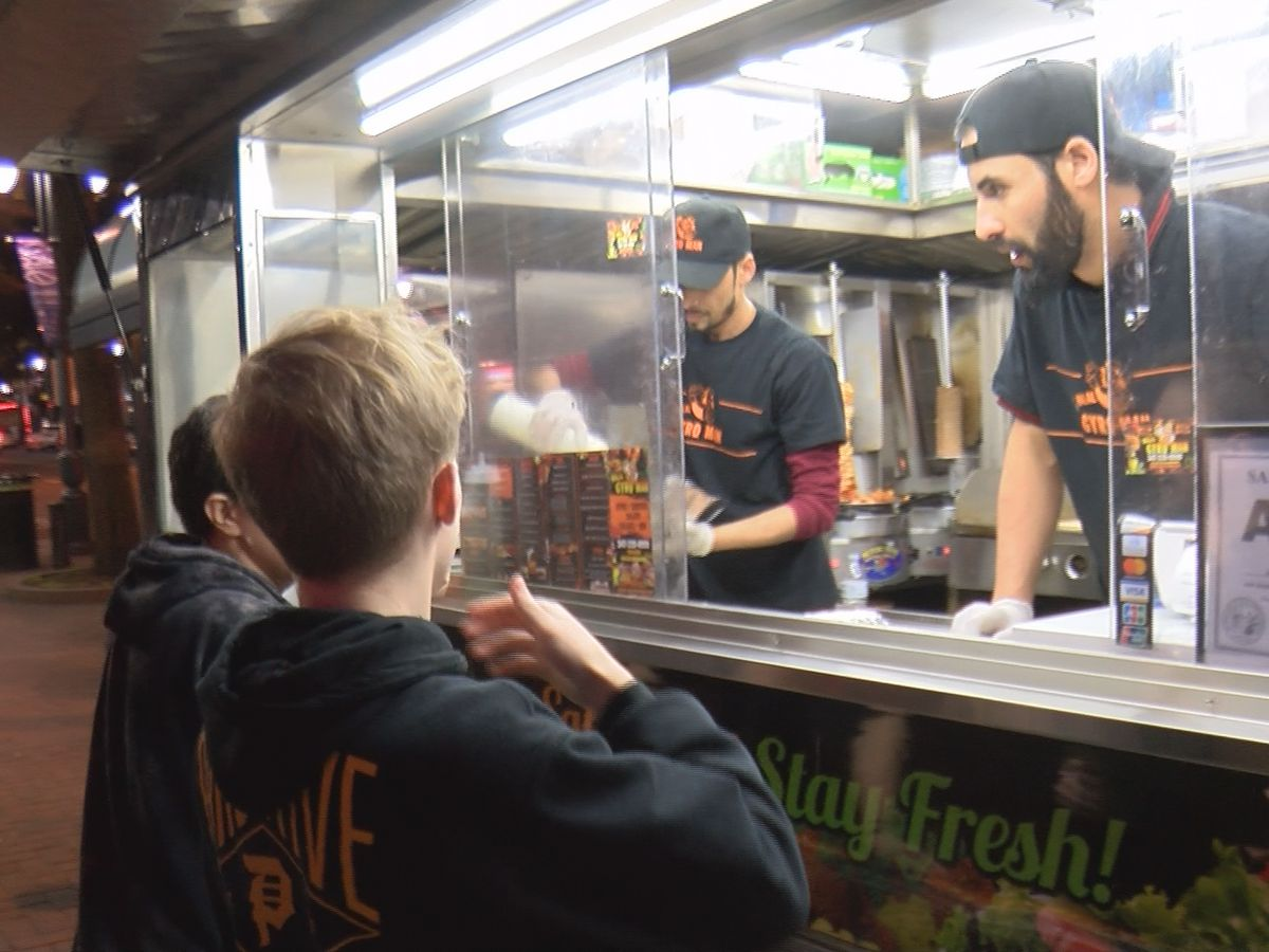 Local food truck business welcomes added crowds with ACC Tournament