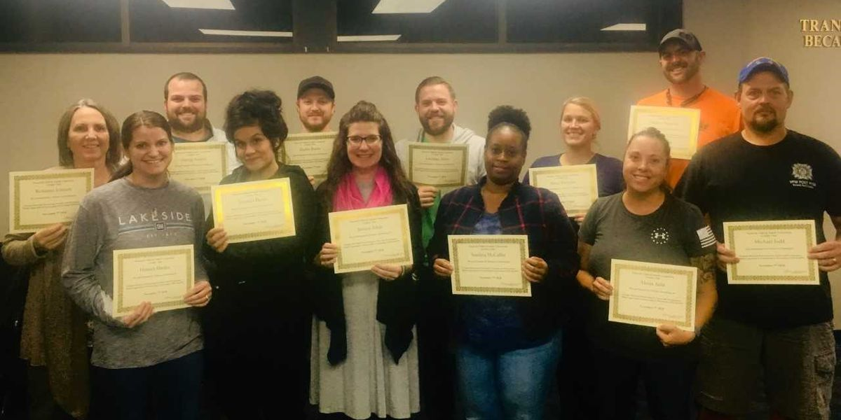 Seven families complete Nazareth Child & Family Connection Foster Parenting class