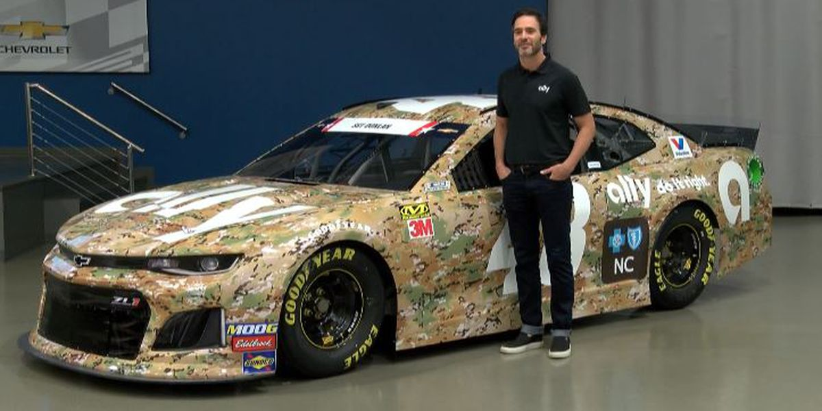 Johnson to honor fallen soldier, military at Coca-Cola 600