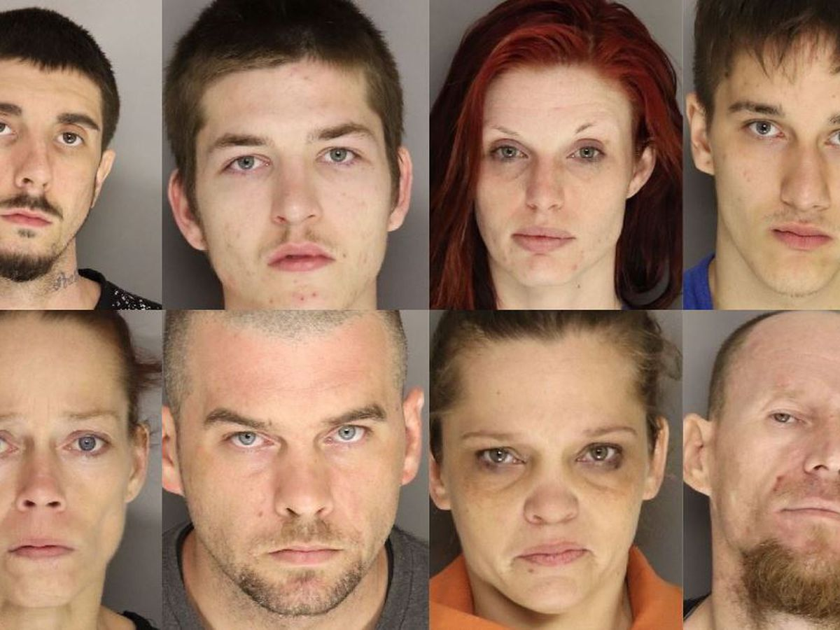 Shooting leads to 8 arrests on assault, weapons, drug charges in Lancaster County
