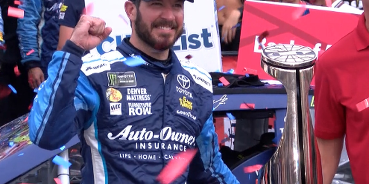 Martin Truex Jr. wins yet another playoff race for Toyota