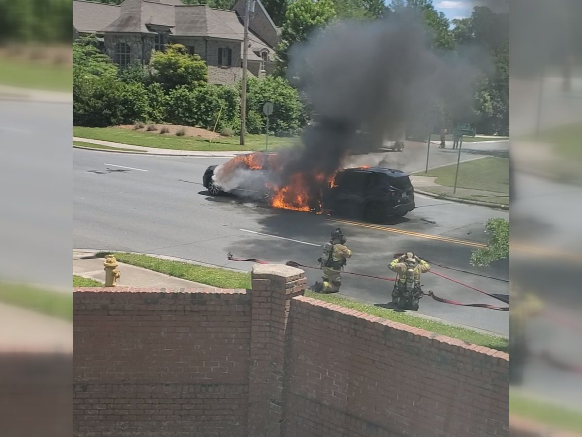 Homeowner films aftermath of fiery south Charlotte crash, voices concern about intersection