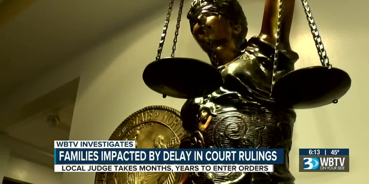 Families impacted by delay in court rulings in Mecklenburg County