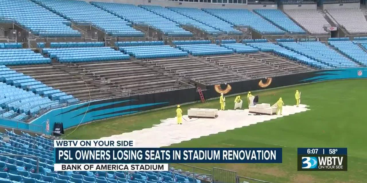 PSL owners losing seats in BofA Stadium renovation