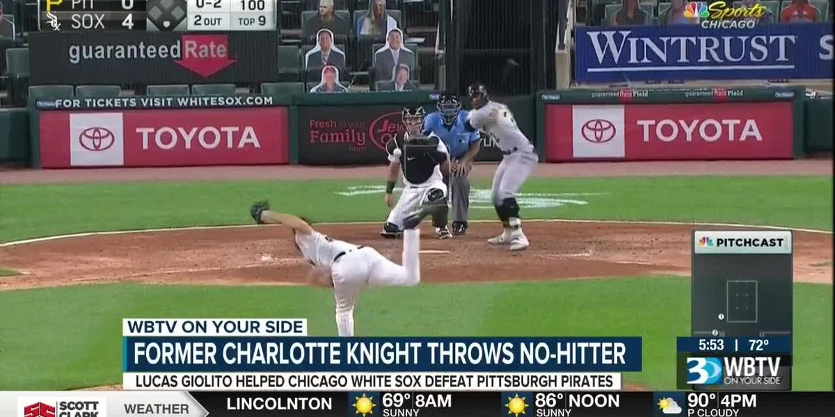 Former Charlotte Knight throws no-hitter