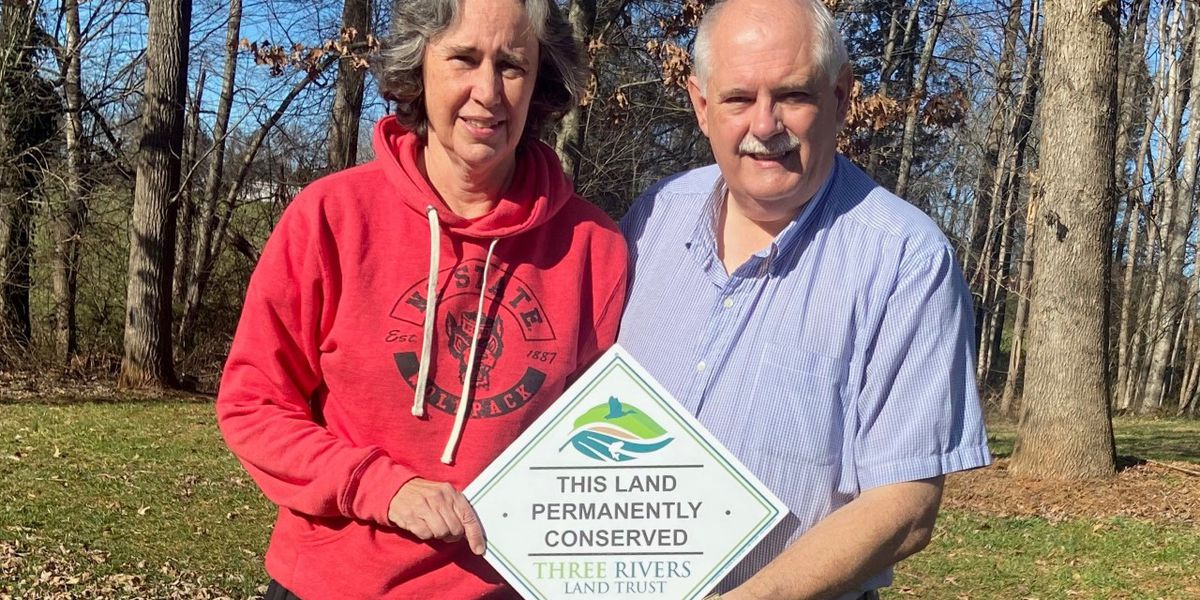 Three Rivers Land Trust permanently conserves 27 acres in Montgomery County