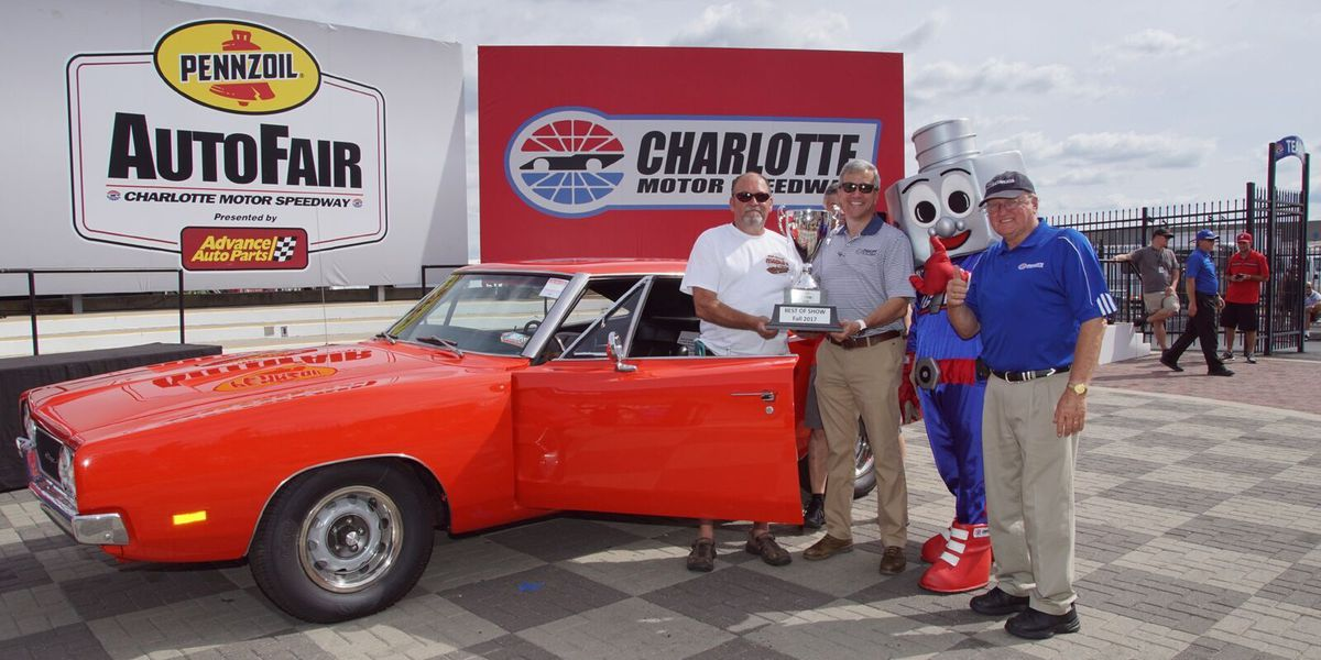 Vintage Charger takes top honors at Pennzoil AutoFair