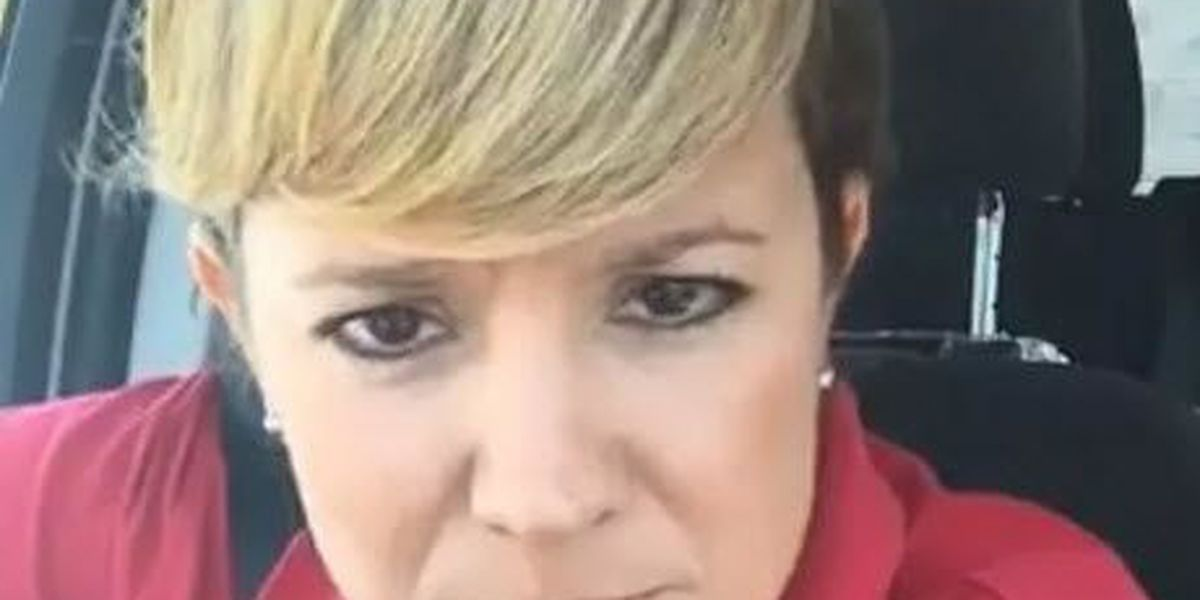 VIDEO: Reporter Kristen Hampton goes viral testing out clip-on bangs