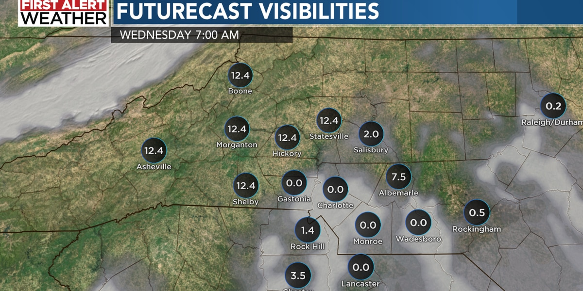 Thick fog likely overnight