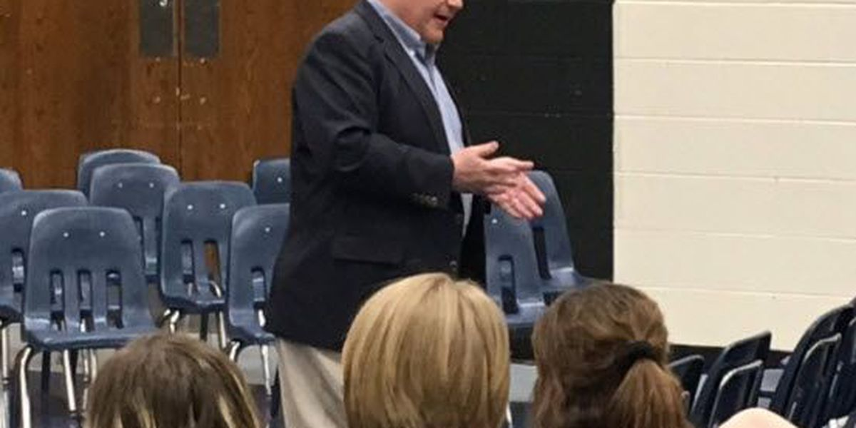 NC House Speaker talks school safety with students