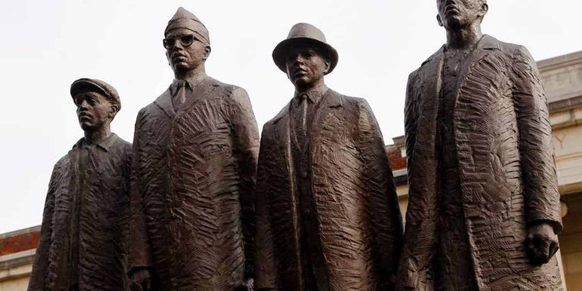 Image result for Greensboro Four students history""