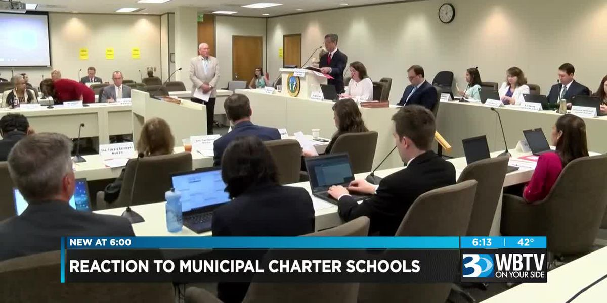 Reaction to municipal charter schools