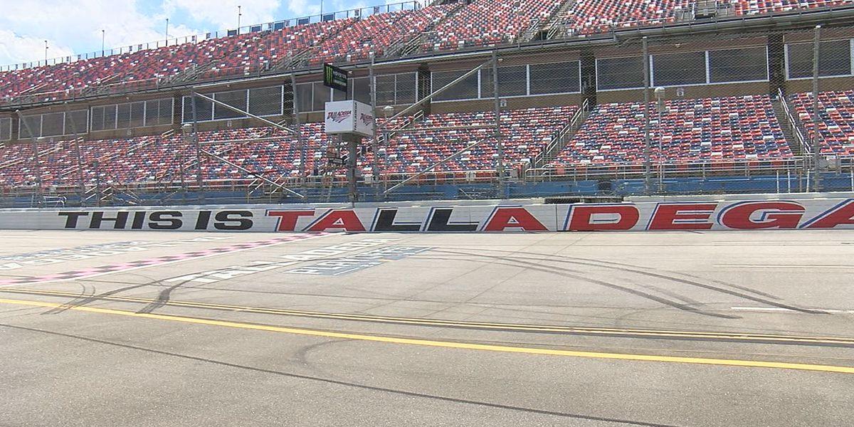 NASCAR race at Talladega Superspeedway postponed by rain