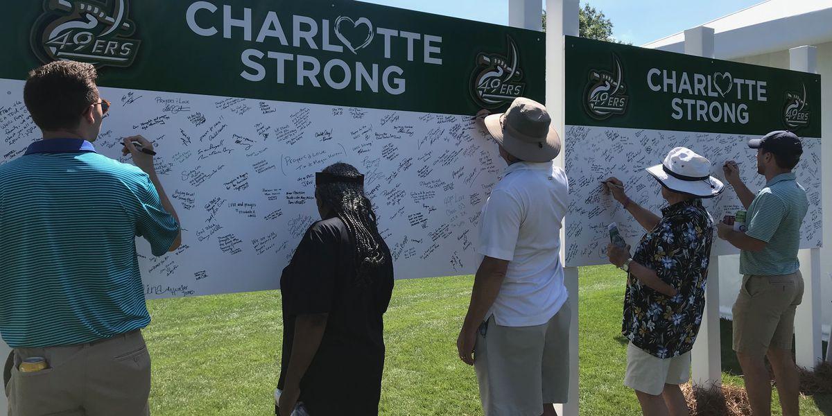 Quail Hollow Club, Wells Fargo Championship participants honor UNC Charlotte victims