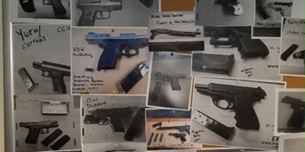 Hundreds of stolen guns already in 2020, police urging legal gun owners to be responsible