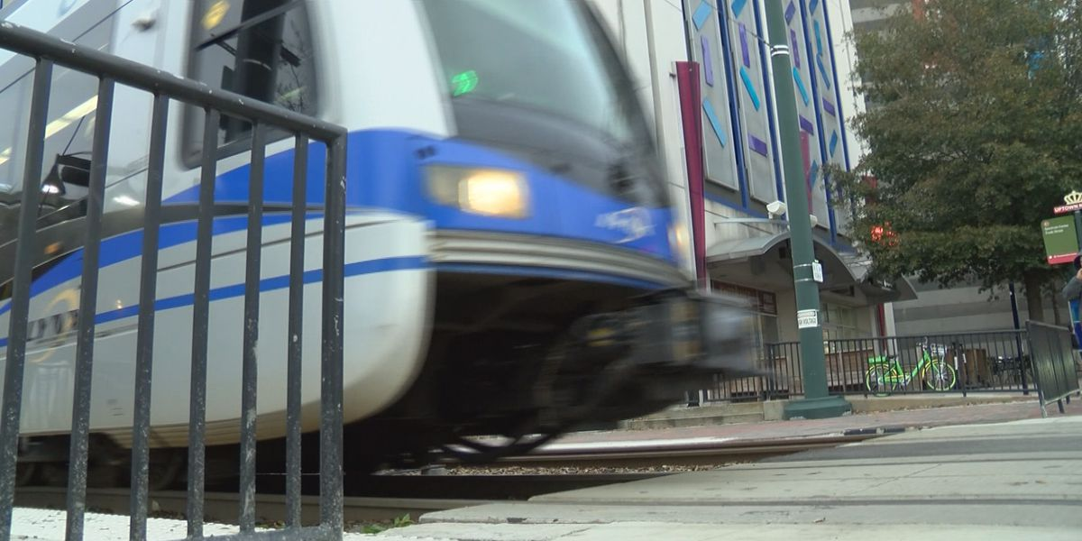 Lightrail popular option over expensive parking during ACC Championship game in Charlotte
