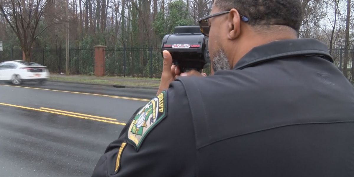 Pineville Police to work with Mecklenburg County Sheriff's Office on next targeted speeding enforcement operation