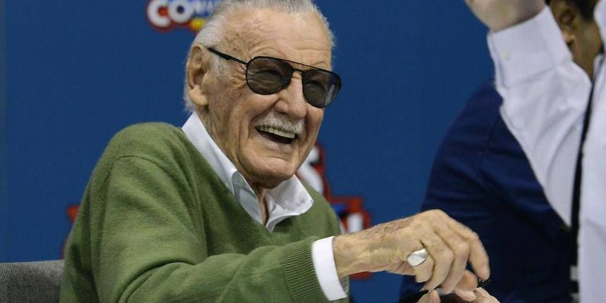 Fans marvel at comic book icon Stan Lee