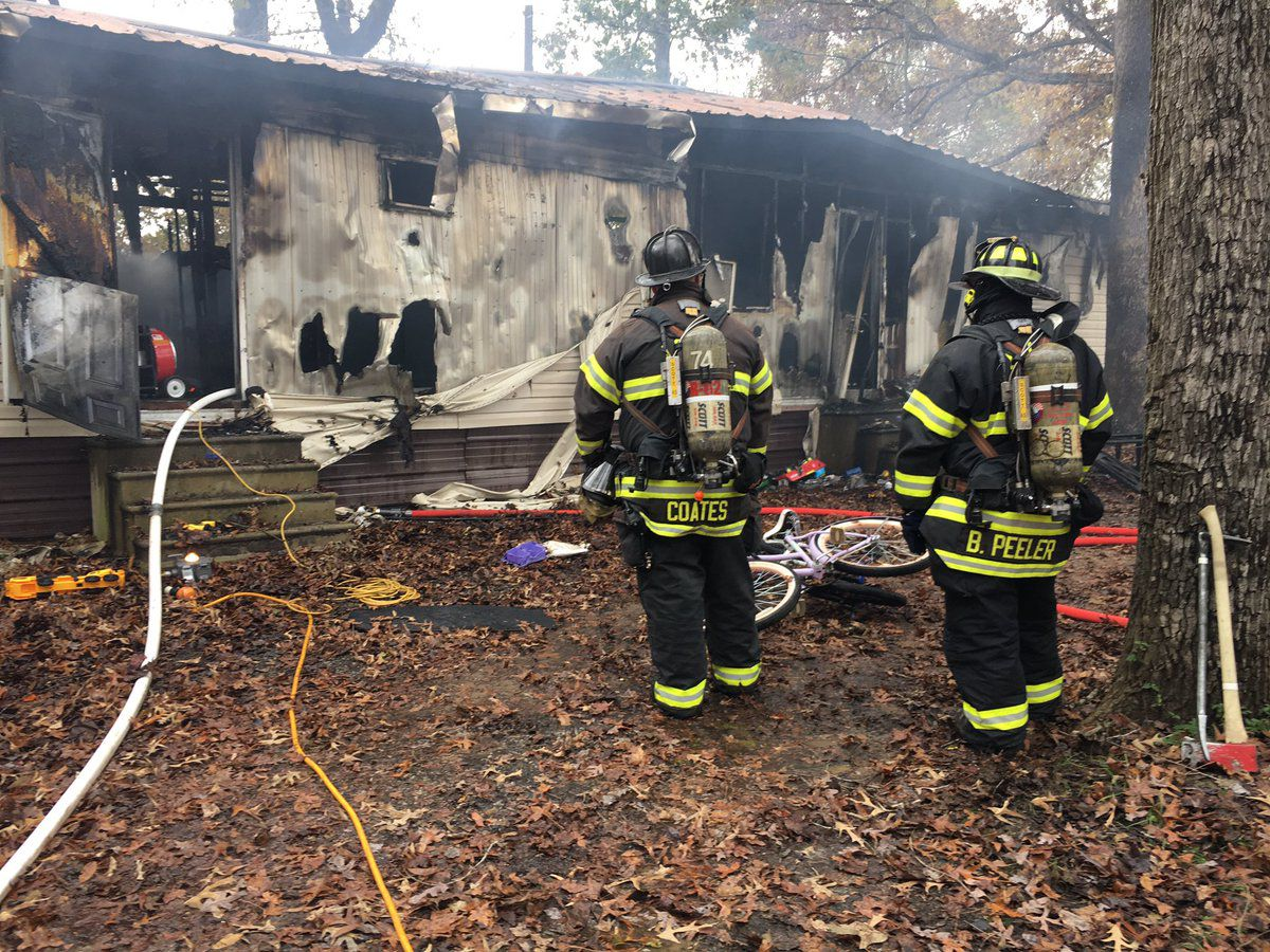 Three displaced after fire destroys Salisbury home