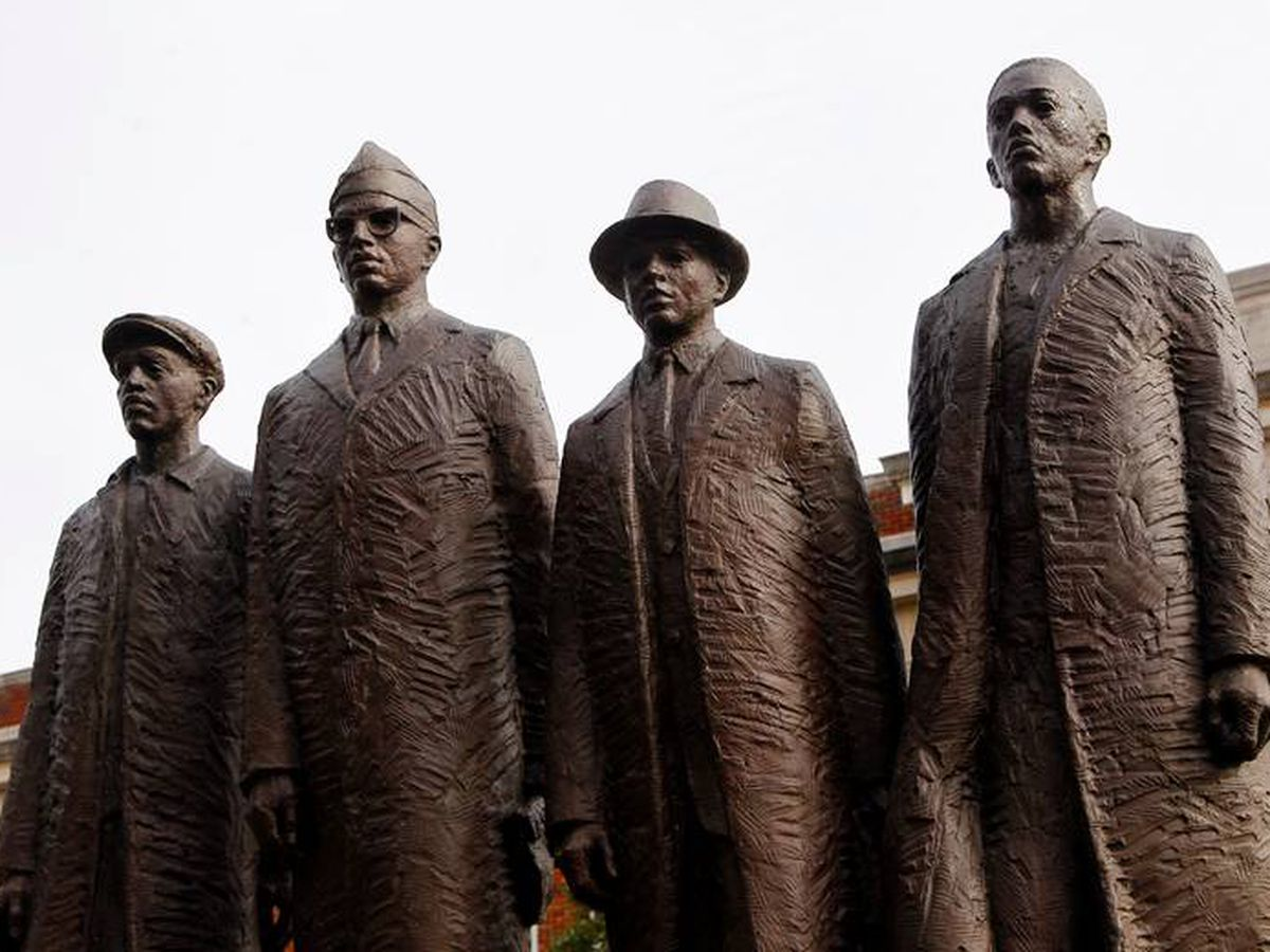 Sixty years ago, four college students sat at a lunch counter - and made history