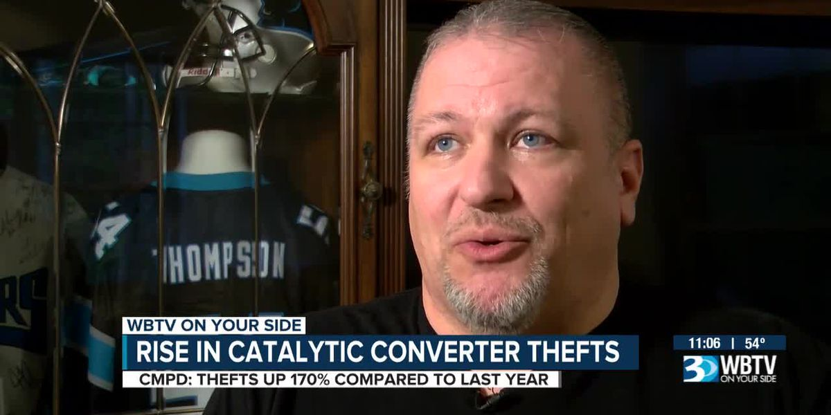 Rise in catalytic converter thefts