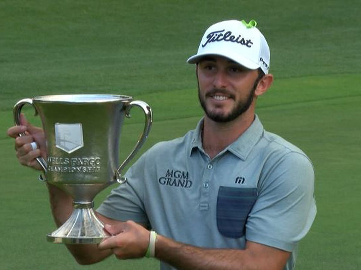 Max Homa will defend his title at the Wells Fargo Championship
