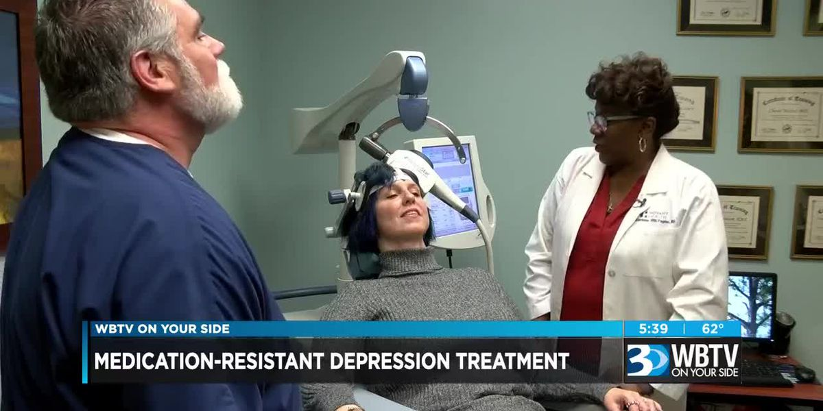 Medication-resistant depression treatment