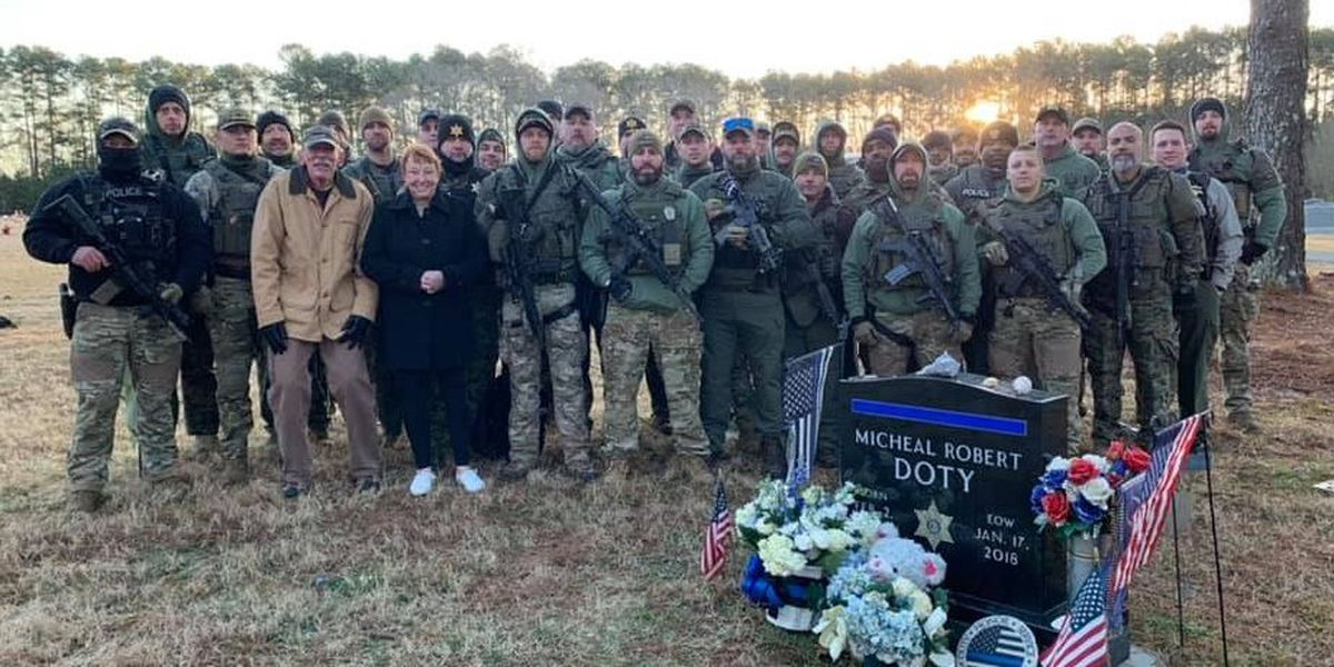 'It still hurts': York County deputies pay tribute to detective killed three years ago during ambush