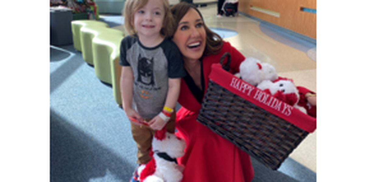 Young patients get words of encouragement from those who donate blood to save their lives.