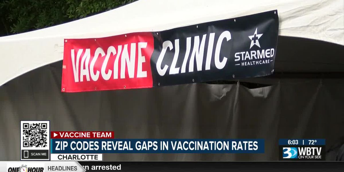 Zip codes reveal gaps in vaccination rates